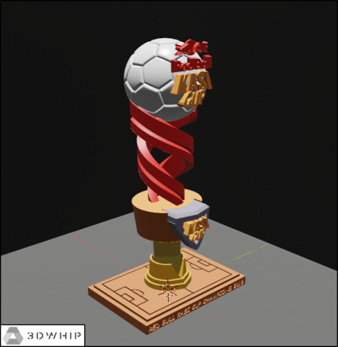 Trophy Design: Red Bull Kasi Cup 2019 Trophy Version 3.