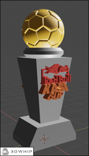 Trophy Design: Red Bull Kasi Cup 2019 Trophy Version 2.